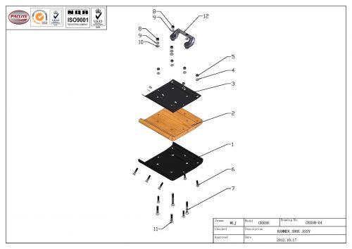 CRX68-04-RAMMER-SHOE-ASSY